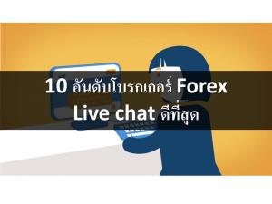 10 อันดับโบรกเกอร์ ซับพอร์ตแชท Live chat ดีที่สุด